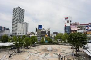 岐阜県のJR岐阜駅周辺