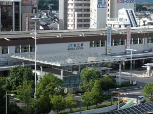 島根県の脱毛エステサロンが多い松江駅周辺